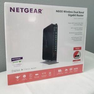 NETGEAR Wireless Router - N600 Dual Band Gigabit